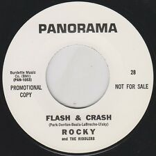 "ROCKY & The RIDDLERS Flash & Crash 7"" Re. NW Bone-Crushing 1966 GARAGE PUNK Hear"