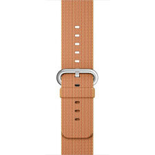 GENUINE APPLE WATCH STRAP SMART BAND MM9R2ZM/A Apple 38MM GOLD/RED NYLON BAND