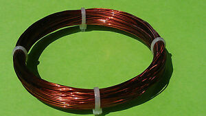 0.405mm 20 meters Enamelled 100%Copper Magnet Wire AWG Gauge 26  A.W.G.jewellery