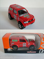 MITSUBISHI PAJERO RED PARIS DAKAR 2003, Majorette Racing Auto Modell