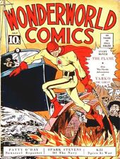 WONDERWORLD COMICS GOLDEN AGE COLLECTION PDF CD