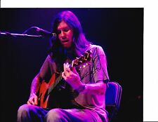 SMILE EMPTY SOUL SEAN DANIELSON SIGNED PLAYING ACOUSTIC GUITAR 8X10