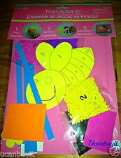 Arts & Crafts Foam Bumble Bee Picture Kit ~ No Glue Required Ages 4+