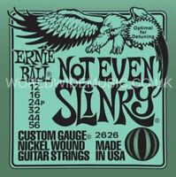 Ernie Ball NOT EVEN SLINKY Nickel Wound Guitar Strings - 2628