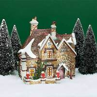 TATTYEAVE KNOLL 58311 DEPT 56 RETIRED  DICKENS VILLAGE WITH FIELDSTONE WALL