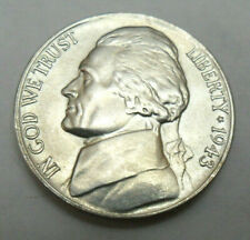 1943 S Jefferson Nickel  *35% SILVER*  *AG OR BETTER*  **FREE SHIPPING**