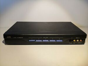 JVC JX-S111 Video Audio Selector Component S-Video Switcher Very Good Condition