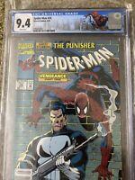 Spider-Man #32 CGC NM 9.4 (1993) -RARE NEWSSTAND Master Vengeance & Punisher app