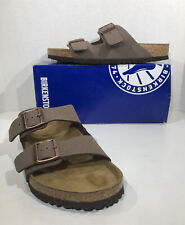 Birkenstock Arizona Men's Size 10 EU 43 Mocca Birkofllor Sandals Shoes ZB7-405