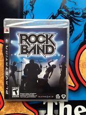 Playstation 3 Rockband Game SEALED Brand New
