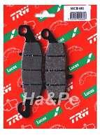 Kawasaki - Original TRW-Lucas Bremsbeläge brake pads MCB681  MCB 681