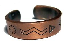 PURE HEAVY COPPER NATIVE STYLE RING mens womens jewelry JL621 stress relief NEW