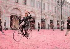 La Gazetta Dello Sport Italian Newspaper Advert Postcard Unposted Man Bicycle