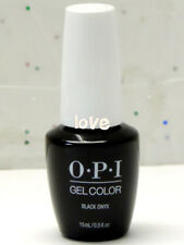 OPI GelColor New Gel Nail Polish Soak-Off T02- Black Onyx