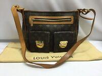 """Auth Louis Vuitton Monogram Hudson GM Shoulder Bag 9C131010na"""""""