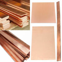 99.9%  Purple Copper Cu Metal Sheet Plate Strip Thickness 0.2/0.5/1/1.5/2/3mm