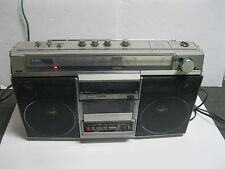 VINTAGE AIWA CS-660U BOOMBOX GHETTO BLASTER MULTIBAND RADIO Made In JAPAN