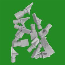 12 x 20mm PUSH & TWIST Chiusura Plastica Bianco SUPPORTI MENSOLE PIN PIOLI
