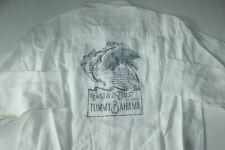 Tommy Bahama Shirt Collectors Breezer Emerald Coast White T317920 LS Medium M
