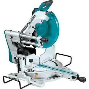 Makita LS1219L-R 12 in. Dual‑Bevel Sliding Compound Miter Saw with Laser