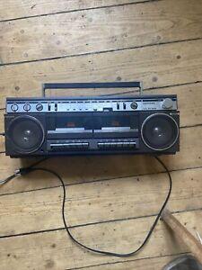 Siemens Club 818 Kassettenrecorder Radio Ghettoblaster