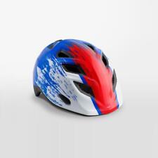 MET Genio Childrens Cycle Helmet One Size 52/57cm - Blue Red Hero