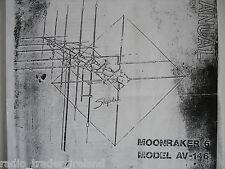 Avanti MOONRAKER 6 (manuale di istruzioni solo)........... radio_trader_ireland.