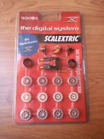 SCX SCALEXTRIC DIGITAL SYSTEM CHIP V1 + GUIA GUIDE BLISTER