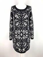 CLEMENTS RIBEIRO Jumper Dress Size M 12 14 Angora Mix Super Soft Knit Cosy