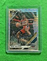 JRUE HOLIDAY PRIZM SILVER WAVE CARD PELICANS 2019-20 DONRUSS OPTIC BASKETBALL