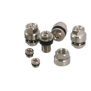 New Metal Chrome Finish Steel Flush Mount Valve Stems and Caps 4 Pack wheel rims