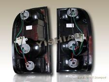1995-2000 Toyota Tacoma Pick Up Tail Lights G2 Black Smoke 1996 1997 1998 1999