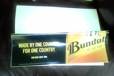 large (30cm long) bundaberg rum sticker  (made by one country for one country )