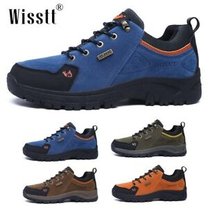 Mens Sneakers Breathable Trails Backpacking Hiking Trekking Boots Outdoor Shoes