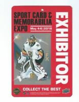 RARE MARC ANDRE FLEURY SPORT CARD EXHIBITOR PASS VEGAS GOLDEN KNIGHTS