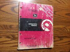 John Deere 4650 and 4850 Tractors Operator's Manual Omrw16854