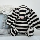 Jellycat Special Limited Edition Bashful Bunny Laurie Black White Soft Toy