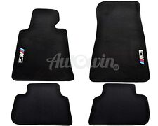 BMW M3 Series E46 Black Floor Mats With ///M3 Emblem Clips LHD Side