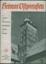 Danzig Königsberg Ostpreußen Memel Memelland Elbing Westpreußen 1948 Heimatbuch