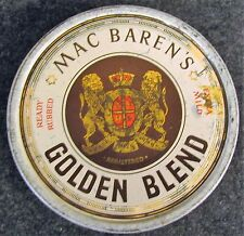 Vintage Mac Baren's Golden Blend Tobacco Advertising Tin (AB106)