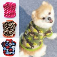 Pet Coat Dog Jacket Winter Clothes Puppy Cat Sweater Coat Clothing Apparel Vest