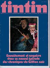 BD Comics Magazine Hebdo Journal Tintin No 36 30e 1975 Griffon Noir