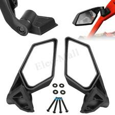 Racing Side Mirrors For Can-Am Maverick X3 & MAX Turbo R UTV Off-road 2017—2020