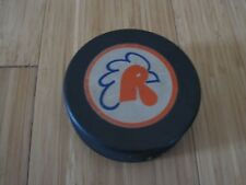 1970s vintage providence Rhode Island reds AHL hockey Game  used puck rare
