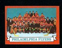 NMT 1973 Topps #103 Philadelphia Flyers Team.