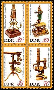 EBS East Germany DDR 1980 - Carl Zeiss Optical Museum BLOCK Mi. ZD2534-253 MNH**