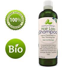 MAXIMUM STRENGTH Hair Loss Shampoo Biotin Topical Treatment 100% NATURAL