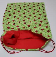 Kuul Kreations - Ladybug Multi-Purpose Bag; 16X12; Red Drawstring