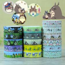 My Neighbor Totoro Japanese Washi Adhesive Stationery Craft Tape Sticker DIY