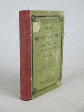HISTOIRE DE LA GRECE ANCIENNE Victor Duruy 1888 Hachette Livre scolaire ancien